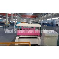 Quality Glazed Tile Corrugated Roll Forming Machine With Steady And Polish Surface wholesale