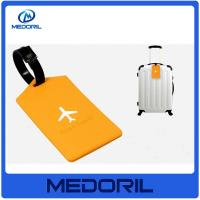 China Wholesale Colorful eco friendly Silicone Luggage Tag with Printing Custom Logo on sale