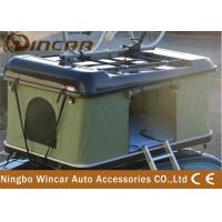 Quality ABS Car Roof Rack Camping Tent , Popup Roof Tent With Bike Carrier / Rack wholesale