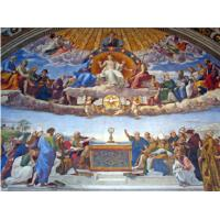Quality High Glossy Surface Decorative Acoustic Ceiling Panels Bible Painting wholesale