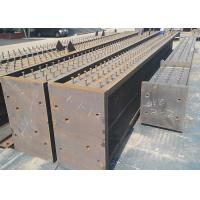 Quality Oem Steel Fabrication Services Heavy Steel Structure Frame Multi Storey With Stud wholesale