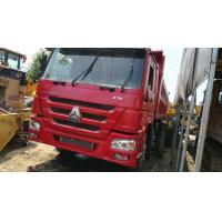 China 8 * 4 Drive Wheel Used Dump Truck LHD Driving 40 Ton Carry Load Capacity on sale