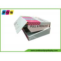 Buy cheap Shelf Ready Cardboard Retail Packaging Boxes RRP For Purse Promotion CDU089 from wholesalers