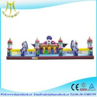 China Hansel inflatable products manufacturers playground for commercial for children on sale