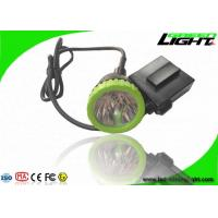 Quality 3.7W High Power LED Coal Mining Lights 50000lux 13hrs Lighting Time Head Lamps wholesale