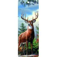 Quality Cute Reindeer 5.6x15.3cm Size 3D Lenticular Bookmark With Colorful Tassel wholesale