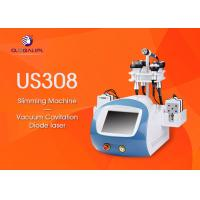 Quality CE Approved 6 In 1 Ultrasonic Cavitation Slimming Machine Wind And Water Cooling System wholesale