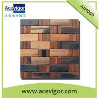 Quality High quality wood wall tiles mosaic wholesale