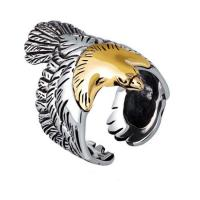 China Mens Fashion Jewelry Sterling Silver Eagle Sculpture Skyhawk Ring (XH042519W) on sale