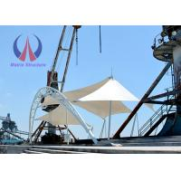 Buy cheap Anticlastic Pre - Stressed Sail Tensile Shade Structures For Simple Stage product
