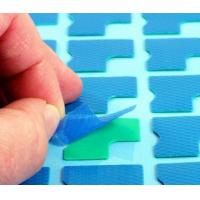 1.5 W/mK Ultrasoft CPU Heatsink Pad , Green 1.5W Thermal Silicone Pads