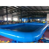 Quality Customized  Logo PVC Swimming Pool Removable And Portable Above Ground PVC Pools wholesale