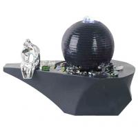 Quality Cast Ball Lighted Tabletop Water Fountain , Small Table Water Fountains wholesale