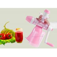 Quality Durable Fruit Juice Making Machine , ABS Main Body Slow Juice Extractor Easy Gathering wholesale