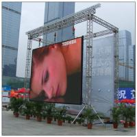 High Brightness Full Color LED Display Screen For Public Commercial Advertising / Picture Vedio