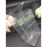 China Clear plastic boxes folding up PVC or PET box customized size packaging
