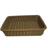 Quality Eco-friendly Poly Wicker Laundry Basket By Handmade With Handle wholesale
