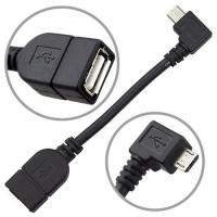 Cheap USB 2.0 A Female to Micro-B Male Adapter Connector F/M OTG Adapter cable for sale