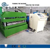 Quality Hydraulic Steel Corrugated Roofing Sheet Crimping Machine , Metal Roofing Roll Forming Machine wholesale
