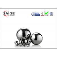 Quality Solid large chrome steel sphere G10 AISI 52100 1/2