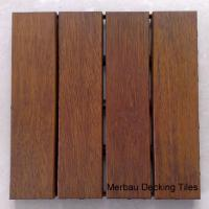Quality Merbau decking tiles wholesale