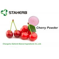 Quality Faint Red Dehydrated Cherry Juice Powder Concentrated Original Fresh Flavor wholesale