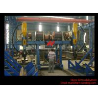Cheap H Beam Fabrication Welding Equipment / Auto Saw Welder For Flange And Web for sale
