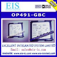Quality OP491-GBC - PMI - Micropower Single-Supply Rail-to-Rail Input/Output Op Amps - Email: sale wholesale