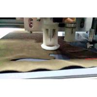 Quality Automated Leatherette PU Vegetable Tanned Bycast Leather CNC Cutting Machine wholesale
