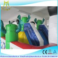 China Hansel 2017 commercial plastic inflatable games for babies rental on sale