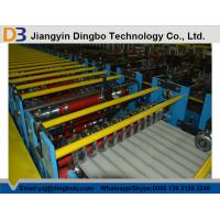 Quality Corrugated Steel Roofing Roll Forming Machine with 3kw Hydraulic Motor Power wholesale