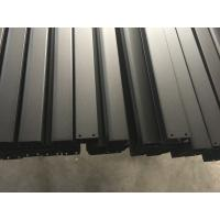 Quality Black Anodized Powder Coating aluminum frame extrusions for Roof Rack wholesale