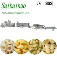 China Fully Automatic Industrial Corn Puff Snacks Food Machine Processing Line on sale