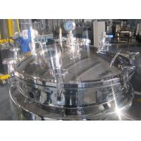 China Stainless Steel Mixing Tanks For Mixing Liquid / Medicine With Storage Function on sale