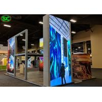 China P6 1R1G1B LED Screen Panel for Indoor , Flexible LED Curtain Display on sale