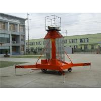 Quality Telescopic Cylindrical Hydraulic Work Platform With 10m Maximum Platform Height wholesale