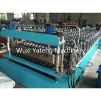 Quality Fully Automatic Galvanized Steel Corrugated Roll Forming Machine 8 - 15m / Min Working Speed wholesale