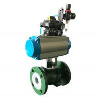 China Manual Power Industrial Control Valves Regulating Ball Valve DN10 - DN250 on sale