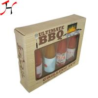 Cheap Customized Size Paper Board Box Classic Style For Sauce Bottles for sale