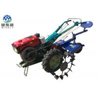 Quality Rice Harvesting 2 Wheel Walk Behind Tractor For Paddy Field 2200rpm Speed wholesale