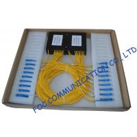 Quality High Return Loss Fiber PLC Splitter 1 × 8 / Compact Pallet Splitter wholesale
