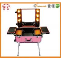 Buy cheap Best quality product in China Makeup case with lights and mirror aluminum from wholesalers