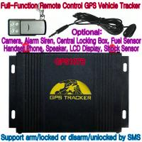 Quality GPS107B All-In-One AVL GPS Vehicle Tracker W/ Photo Snapshot, Remote-Control & 2-Way talk wholesale