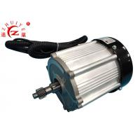 Cheap Permanent Magnet Synchronous Electric Motor , 1.8KW 60V Geared Electric Motors for sale