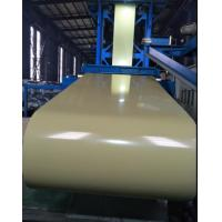 China PPGL Akzo Nobel Prepainted Steel Coil Foam Green 0.25 X 1219mm For Decoration on sale