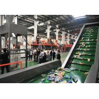 Buy cheap Flakes PET Recycling Line , Plastic Washing Line Pipe Drying System Long Durability from wholesalers