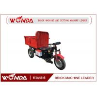 Quality Large Capacity Electric Mini Dumper , Electric Cargo CarrierBrick Delivery Cart wholesale
