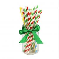Quality Disposable Biodegradable Paper Drinking Straws Strong Drinking Paper Straws wholesale