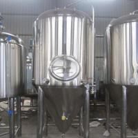 China 2000L Conical Fermenter, Dual Zones for Cooling on sale