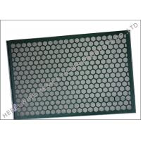 Quality SUS304 Shake Screen , Deblinding Screen Cloth Oil Vibrating Sieving Mesh Screen wholesale